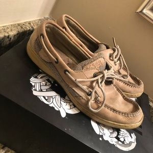 Sperrys leather boat shoe